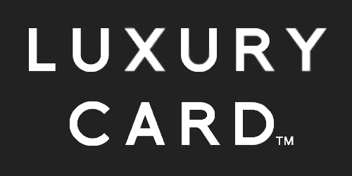 Luxury card logo